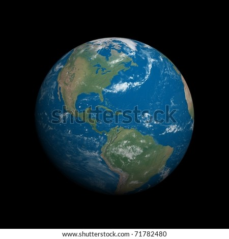 Our planet- Earth - stock photo