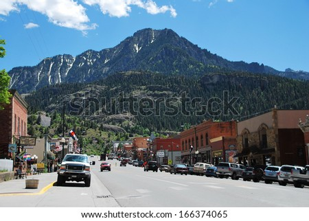 ouray town stock images royaltyfree images amp vectors