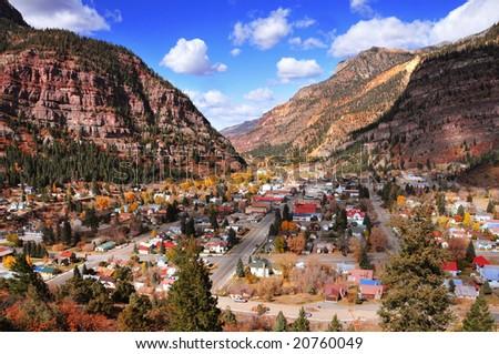 Ouray, Colorado - stock photo