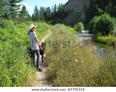 Out in the wilderness - stock photo