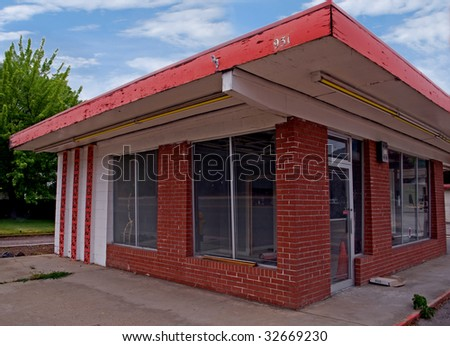 Out of business - stock photo