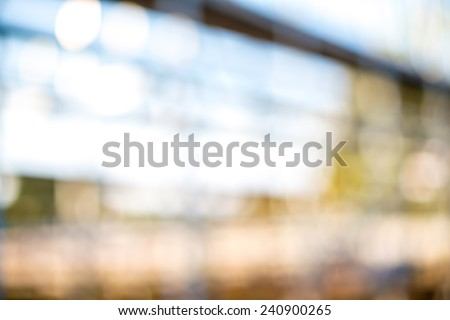 Out of focus background - building - stock photo