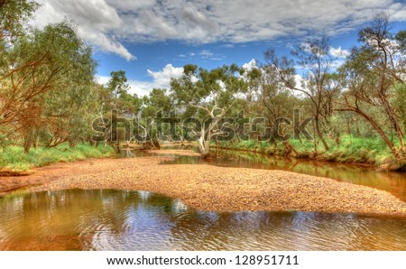 Outback Australia - stock photo