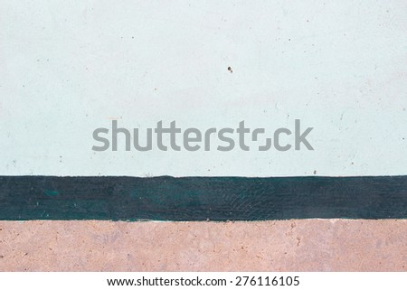 Outdoor Basketball Court Lines background - stock photo