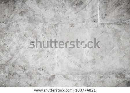Outdoor gray stone wall background photo texture - stock photo