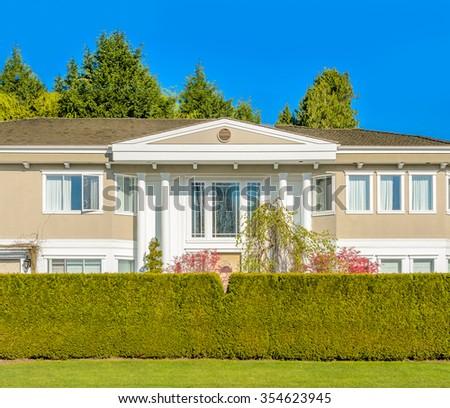 Outdoor landscape in North Vancouver, British Columbia, Canada. - stock photo
