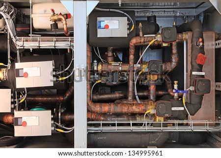 Outdoor Large Industrial Air Conditioning Equipment