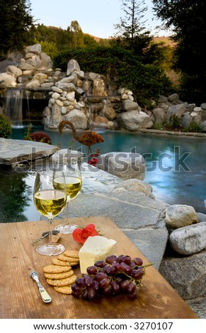 Outdoor Living - stock photo