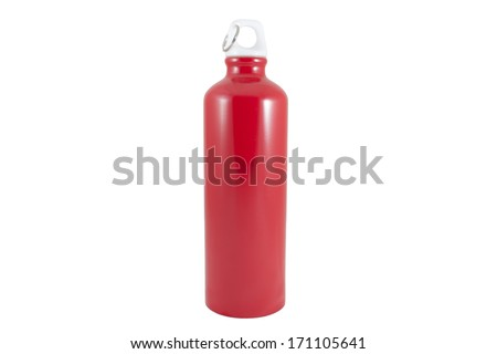 Outdoor Sports Water Bottle - stock photo