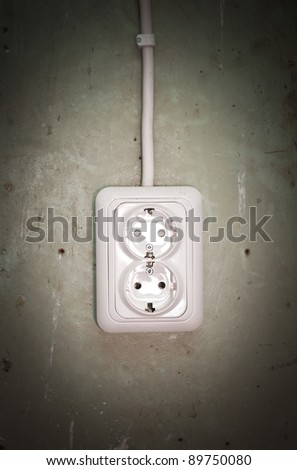Outlet - stock photo