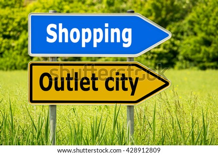 outlet shopping
