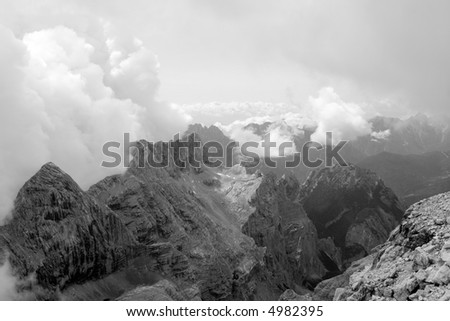 outlook over dolomite