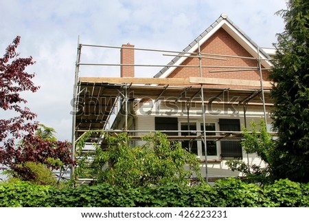 House Reconstruction reconstruction home stock images, royalty-free images & vectors