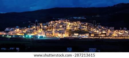 Outskirts Tetouan, Province of Tangier-Tetouan, Morocco - stock photo