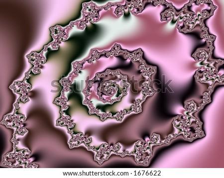 outstanding fractal design 1 - stock photo