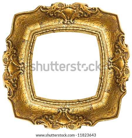 Oval Picture Frame - stock photo