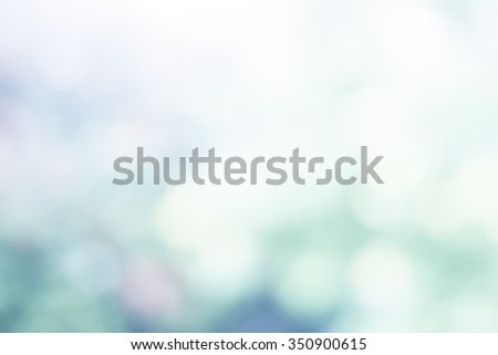 Over blur forest and sky and flower with De focused Bokeh textures background art.Ecology concept. Environment, care, sun concept. christmas concept.  - stock photo