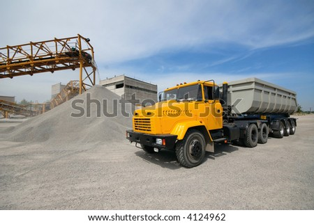 over shipment - stock photo