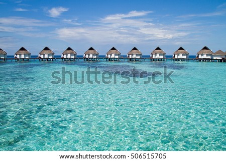 Over Water Bungalows, Maldives