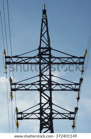 Overhead Line Tower
