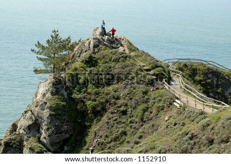 Overlook at Muir Beach, California