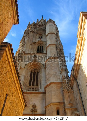 Oviedo cathedral,Spain - stock photo