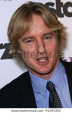 Owen Wilson at the 15th Annual Hollywood Film Awards Gala Press Room, Beverly Hilton Hotel, Beverly Hills, CA 10-24-11