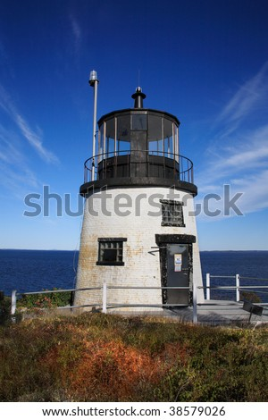 Owl's Head Light, At the Entrance To Rockland Harbor, Maine