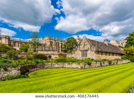 Oxford landmark,England, UK - stock photo
