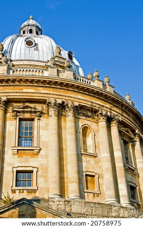 Oxford Radcliffe Library Building - stock photo