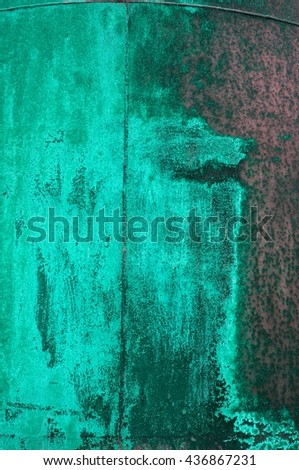 oxidized iron surface - stock photo