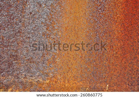 Oxidized metal.  Abstract texture or background. - stock photo