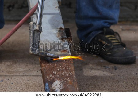 oxygen acetylene welding cutting torch
