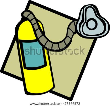 Fire Safety Plan Symbols Oxygen Tank Symbol