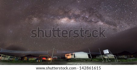 Ozogoche. A common night - stock photo