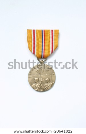 Pacific Campaign Medal - stock photo