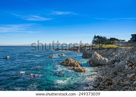 Pacific Grove, California, USA - stock photo
