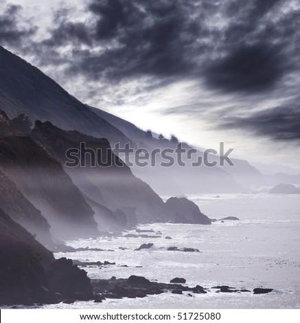 Pacific ocean - stock photo
