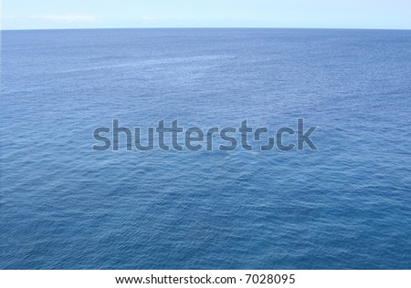 Pacific Ocean Background - stock photo