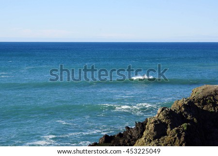 Pacific Ocean Wave - stock photo