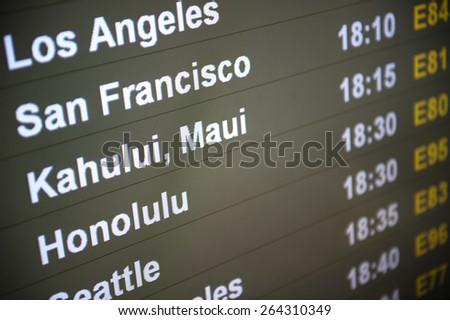 Pacific Rim Destinations - stock photo