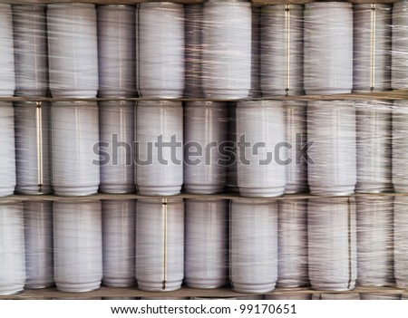Pack Can - stock photo