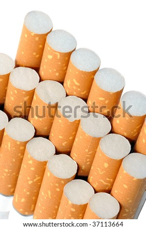 Pack of cigarettes, unhealthy life style concept - stock photo