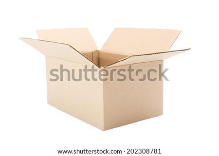 Package Box Opened