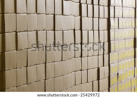 packages - stock photo