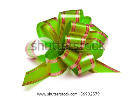 packaging band isolated on white - stock photo