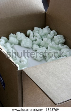 Packaging box - stock photo