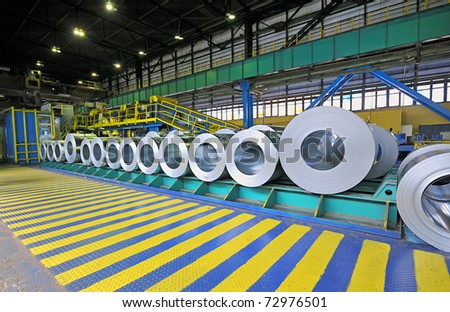 packed rolls of steel sheet, Cold rolled steel coils