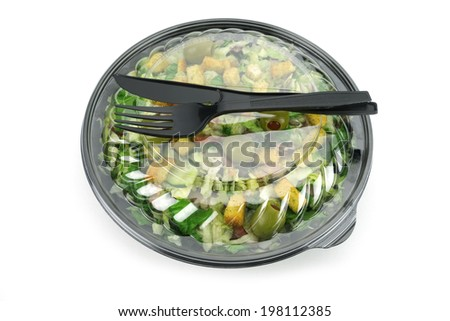 packed salads