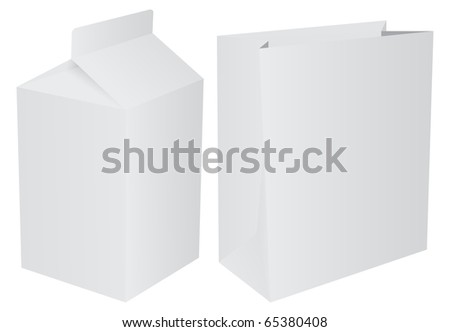 Packets - stock photo